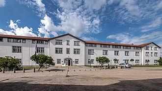 Petersberg Citadel - Image: 115 Erfurt Altstadt Zitadelle Petersberg Untere Kaserne Kaserne 3