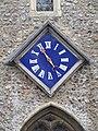 -2020-01-14 Clock on the Church tower, Saint Andrew the Apostle, Church Street, Holt.JPG
