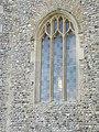 -2020-11-06 Window in the west facing elevation, St Bartholomew's, Hanworth, Norfolk (2).JPG