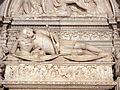 033 Sepulcre de Ramon Folc de Cardona, estàtua jacent.jpg