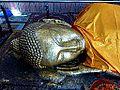 061 Parinirvana Statue, Kusinara (9239665862).jpg