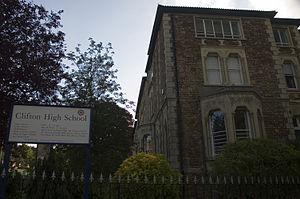 Clifton High School, Bristol - Image: 070522 ukbris chs