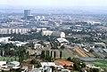 090R36310782 Blick vom Donauturm, Blick Richtung Leopoldau, Bereich Donaufeld, Gaswerk Leopoldau, links Mitte Bombardier.jpg