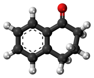 1-Tetralone - Image: 1 Tetralone 3D ball