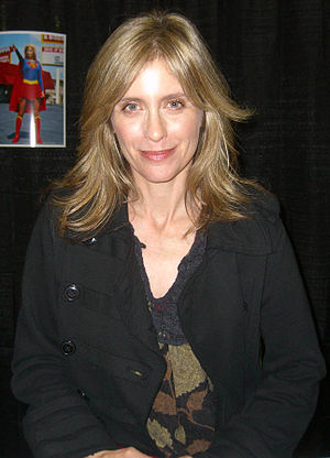 Actor Helen Slater at the Big Apple Convention...