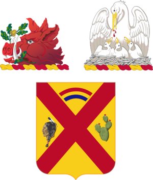 108th Cavalry Regiment - Image: 108Cav Regt COA