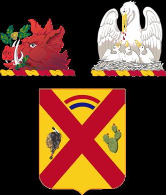 108th Cavalry Regiment - Image: 108Cav Regt COA