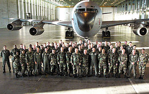 New Jersey Air National Guard - 108th Wing KC-135 at Istres AB, France, 2011