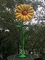 1090 Rossaußer Lände - Donaukanalradweg - Sommerstage Skulpturengarten - 50 Jahre Flower Power von Jacques Tilly 2018 IMG 7593.jpg