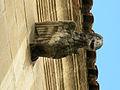118 Ajuntament de Vilafranca del Penedès, gàrgola c. Santa Maria.JPG