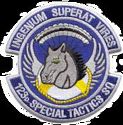 123d Special Tactics Squadron - Emblem