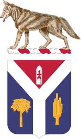 South Dakota National Guard - Image: 147FARegt COA