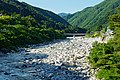 150606 Kiso River view from Momosuke Bridge Nagiso Nagano pref Japan04s3.jpg