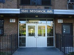 English: 1520 Sedgwick Avenue