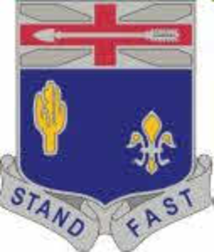 155th Infantry Regiment (United States) - Image: 155 Infantry Regiment DUI