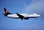 157ax - Lufthansa Boeing 737-330, D-ABXL@ZRH,26.10.2001 - Flickr - Aero Icarus.jpg