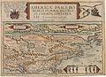 1593 Americae Pars Borealis Florida, Baccalaos, Canada, Corterealis.jpg