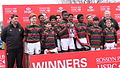 15 March 2016 - Wimbledon College with the Rosslyn Park HSBC National Schools Sevens 2016 Juniors Trophy.jpg