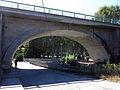 171 Colònia de Borgonyà, pont sobre el canal del Ter.JPG