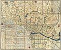 1849 Japanese Map of Edo or Tokyo, Japan - Geographicus - Edo-tokyo-1849.jpg