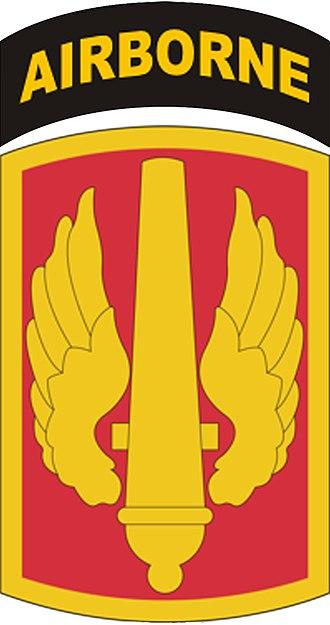 18th Field Artillery Brigade - Image: 18thfabde