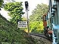 19019 Express led by TKD WDM3A enters DDN territory at Motichur - Flickr - Dr. Santulan Mahanta.jpg