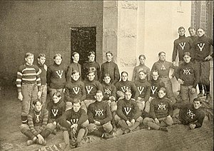 1902 VMI Keydets football team - Image: 1902 VMI Keydets football team