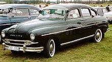 Ford Vedette - первый автомобиль с подвеской системы МакФерсона.