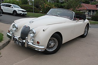 Jaguar XK150 - 1959 Jaguar XK150 drophead coupé