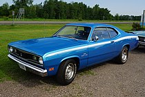1970 Plymouth Valiant Duster 340 (27366262585) (cropped).jpg
