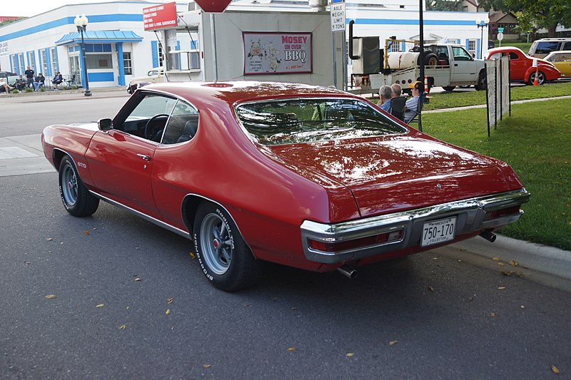 File:1970 Pontiac GTO (29694589441).jpg