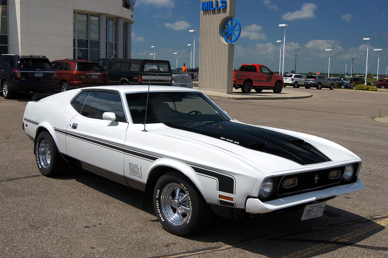 Mills Ford Willmar >> File:1971 Ford Mustang Mach 1 (14564760649).jpg - Wikimedia Commons