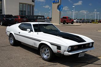 Ford Mustang Mach 1 - 1971 Ford Mustang Mach 1