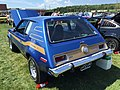 1973 AMC Gremlin X package in blue with gold at AMO 2015 meet 4of8.jpg