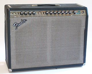 Fender Twin guitar amplifier made by Fender