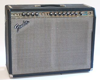 Fender Twin - A 1973 Fender Twin Reverb amplifier