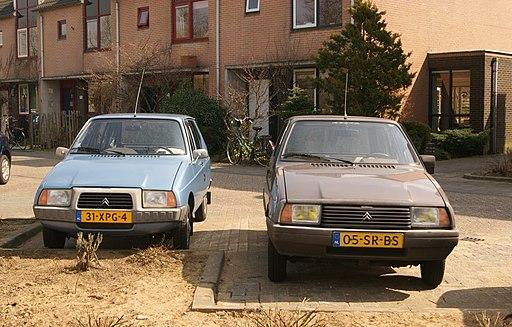 1979 Citroën Visa Club & 1987 Citroën Visa (8791364983)