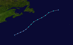 1984 Atlantic subtropical storm 1 track.png