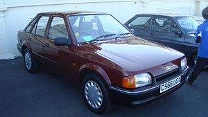 1986 Ford Escort 1.4 L 5SPD (15225764735).jpg