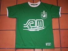 ccbd36a1 Replica of an Atlético Nacional 1989 shirt