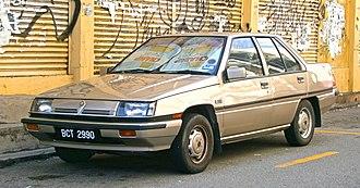 Proton Saga - 1987–1990 Proton Saga (Magma) saloon