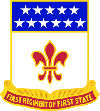 261st Theater Tactical Signal Brigade - Image: 198th Signal Battalion DUI