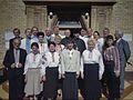 1996-08-11 Vydubychi at Pokrova Church 1.jpg