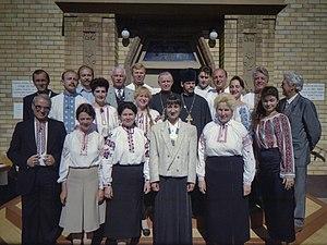 Vydubychi Monastery - Vydubychi Church Choir in 1996