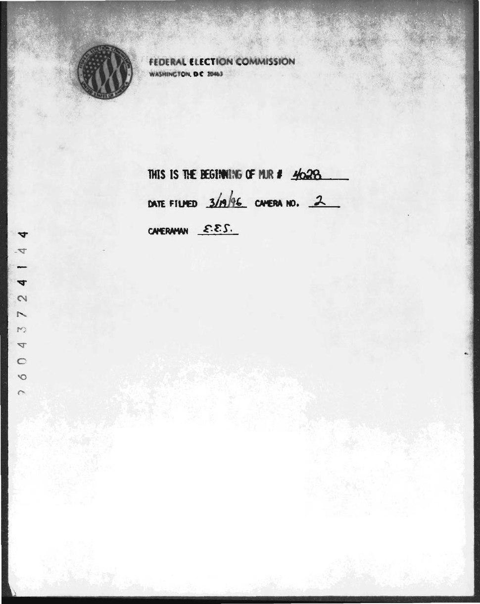 1996 FEC investigation into Florida Democratic United States Senate Candidate Hugh Rodham.pdf