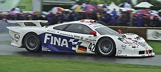 Racing car developed and manufactured by McLaren Cars and BMW Motorsports for the FIA GT1 class racing
