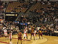 1 Cavaliers at Raptors 104-96 Wednesday, April 6, 2011.JPG