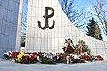 1 Obchody 77. rocznicy powstania Armii Krajowej. Pomnik Polskiego Państwa Podziemnego i AK.jpg