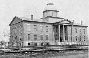 1st Minnesota Legislature - Image: 1st M Nstatecapitol 1860