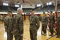 1st Battalion, 2nd Marines Change of Command ceremony 150115-M-OU200-142.jpg